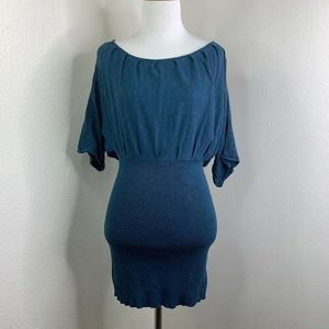 Free People Kimono Sleeves Bodycon Dress Size L